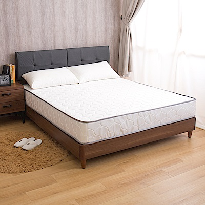 瑪莉提系列 黃金舒適款-歐式緹花高彈力支撐單人加大3.5尺獨立筒床墊