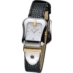 FENDI B.Fendi 完美女人時尚腕錶-白x黑色錶帶/22x32mm