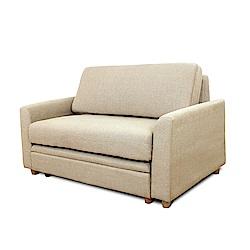 【日安家居】Irene愛琳置物雙人沙發 附腳椅/二色