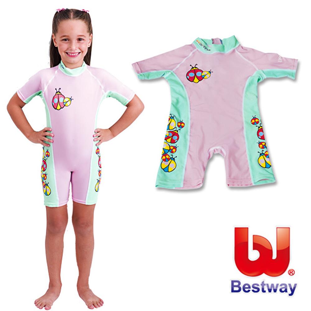 《凡太奇》美國品牌【Bestway】兒童抗UV連身泳衣-女