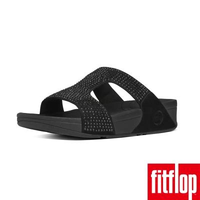 FitFlop TM-ROKKIT TM H SLIDE-鑽石黑