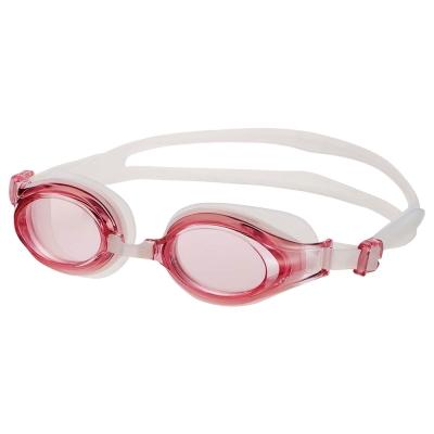 SWANS日本專業光學女款泳鏡防霧抗UV矽膠SW-30粉紅