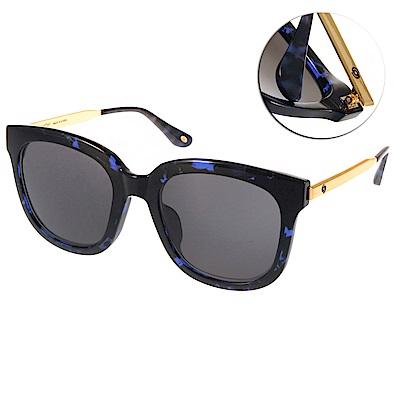 Go-Getter太陽眼鏡 個性方框/藍琥珀-金#GS4001 07