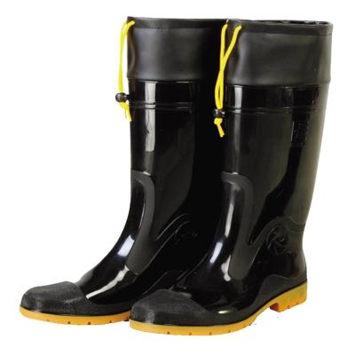 達新牌豪帥專業加束口防滑防水雨鞋 (黑色)