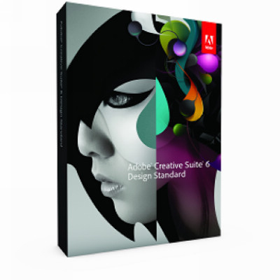 Adobe CS6 Design Standard中文標準盒裝版