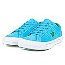 CONVERSE-ONE STAR男休閒鞋159813C-水藍