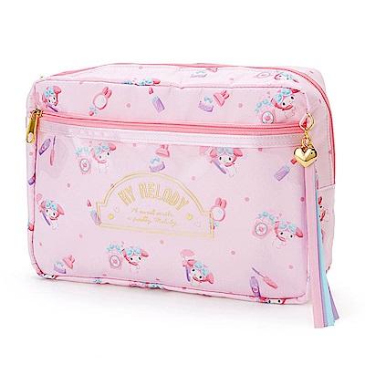 Sanrio 美樂蒂幸福女孩系列第二彈A5尺寸防潑水收納包/包中包(化妝小物)