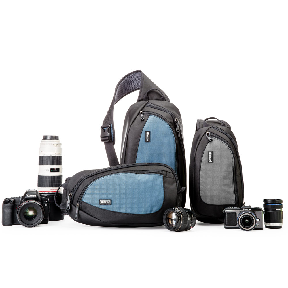 ThinkTank 360度單肩斜背/腰包兩用相機背包 L(TS464藍/TS465灰)