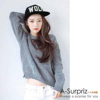 A-Surpriz WOLF字母圖騰夜光棒球帽(黑)