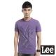 Lee 短袖T恤 前片拼接幾何線條印刷-男款