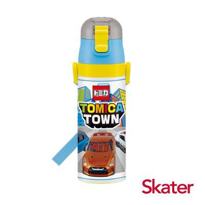 Skater不鏽鋼直飲保溫水壺(470ml)TOMICA TOWN