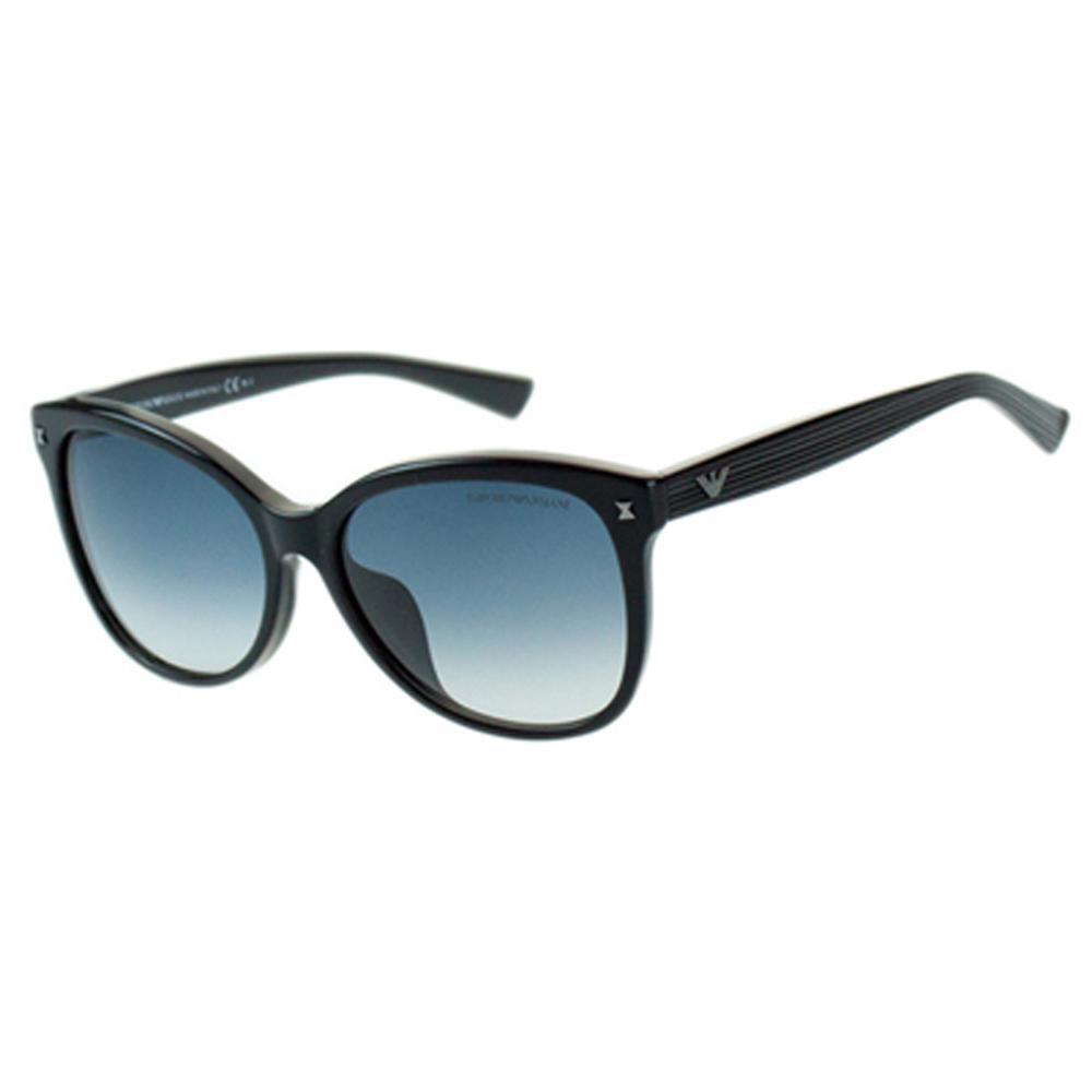 ARMANI-時尚太陽眼鏡(琥珀色/黑色)