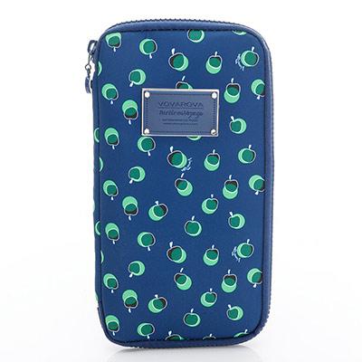 VOVAROVA空氣包-環遊世界護照夾-我的小蘋果(青森綠)-法國設計系列