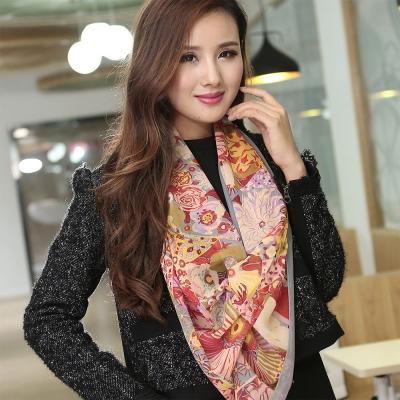 Seoul Show 花卉印象絲巾圍巾