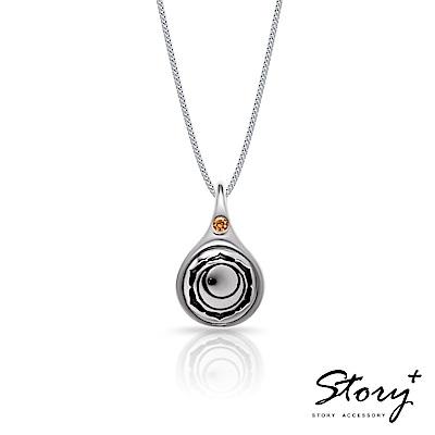 STORY故事銀飾-脈輪系列-臍輪Sacra Chakra純銀項鍊