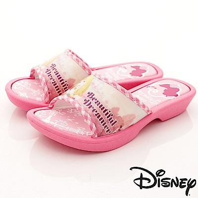 迪士尼童鞋 睡美人Aurora拖鞋款-TH18326桃(中小童段)
