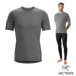Arcteryx 始祖鳥 男 Phase SL 短袖輕量排汗衣 灰