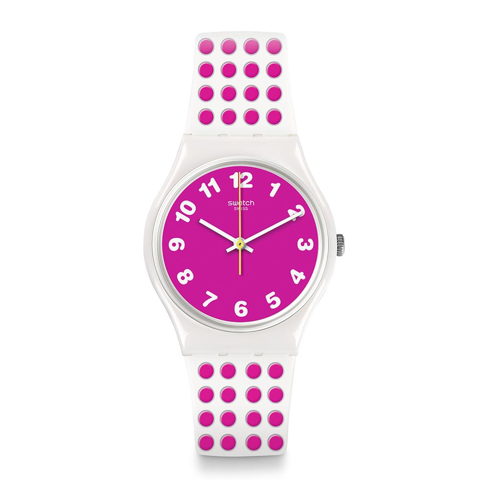 Swatch The Swatch Vibe PINKDOTS 粉色圓點手錶