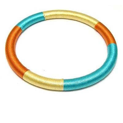 TOMMY-彩妝芭比俏麗手環-橘-黃-藍