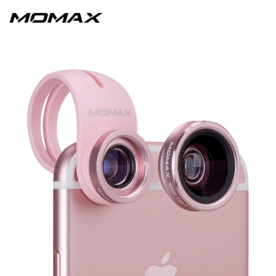 MOMAX X-LENS廣角微距二合一手機鏡頭組