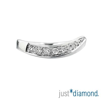 Just Diamond 18K金鑽石尾戒-永恆承諾