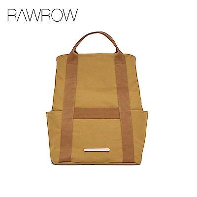 RAWROW-漫遊系列-休閒兩用後背包(後背/手提)-大地駝-RBP295CA