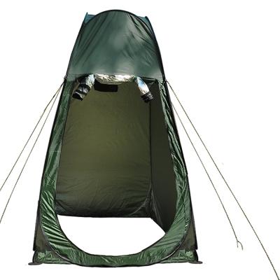 迪伯特DIBOTE戶外便攜多功能彈開式拋開式更衣帳篷附收納袋-快速到貨