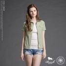 ROUSH 女生雙口袋釘扣水洗牛津布短襯衫 (5色)