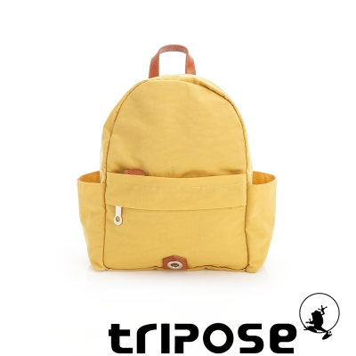 tripose MOVE系列側口收納機能後背包 黃