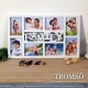 TROMSO-幸福Family立體相框8框-白色 product thumbnail 1