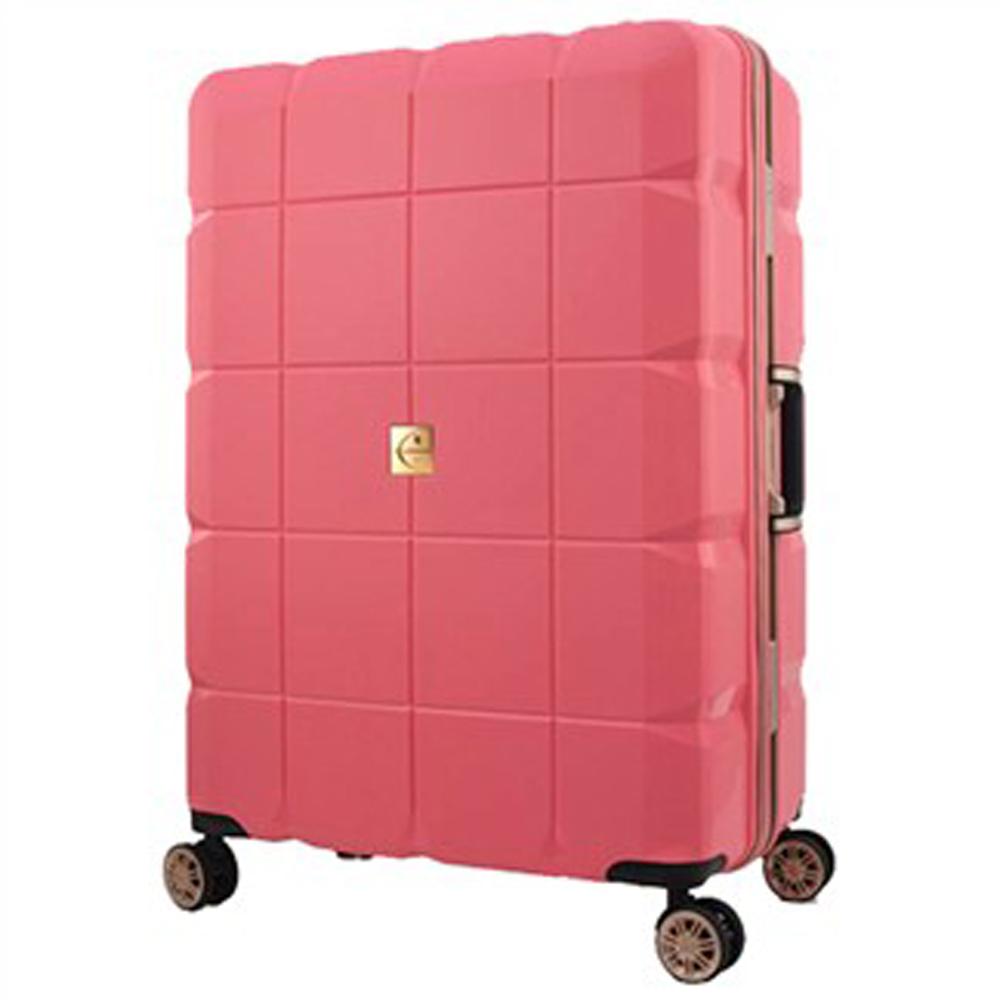 日本 LEGEND WALKER 6023-60-25吋 PP鋁框輕量行李箱 公主粉