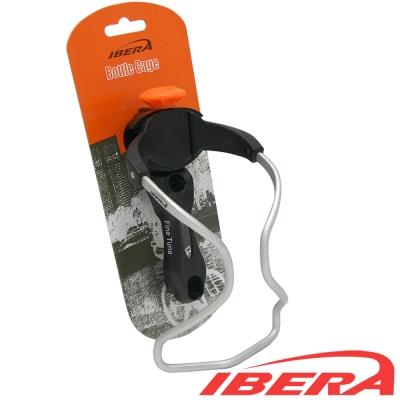 IBERA 強化塑鋼快取式鋁合金水壺架(可左右傾斜+可調整寬度)