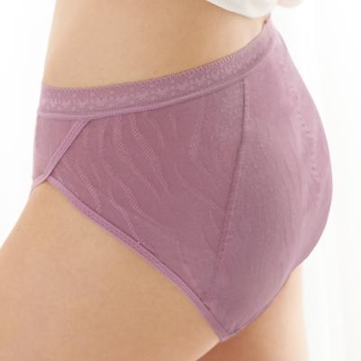 曼黛瑪璉-2015SS 中腰三角夜間生理褲M-XL(桔梗紫)