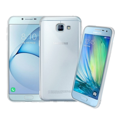 LUCCIDA Samsung Galaxy A8 (2016) 超薄透明軟式保...