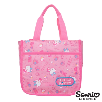 Hello Kitty 休閒潮流手提包-粉紅KT88B04PK