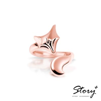 STORY故事銀飾-靈狐系列-赤狐純銀戒指