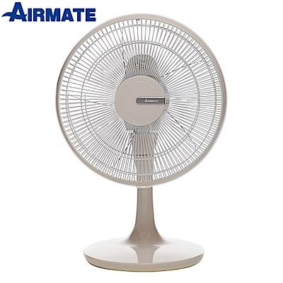 AIRMATE艾美特12吋DC負離子桌扇FD3013M米白款