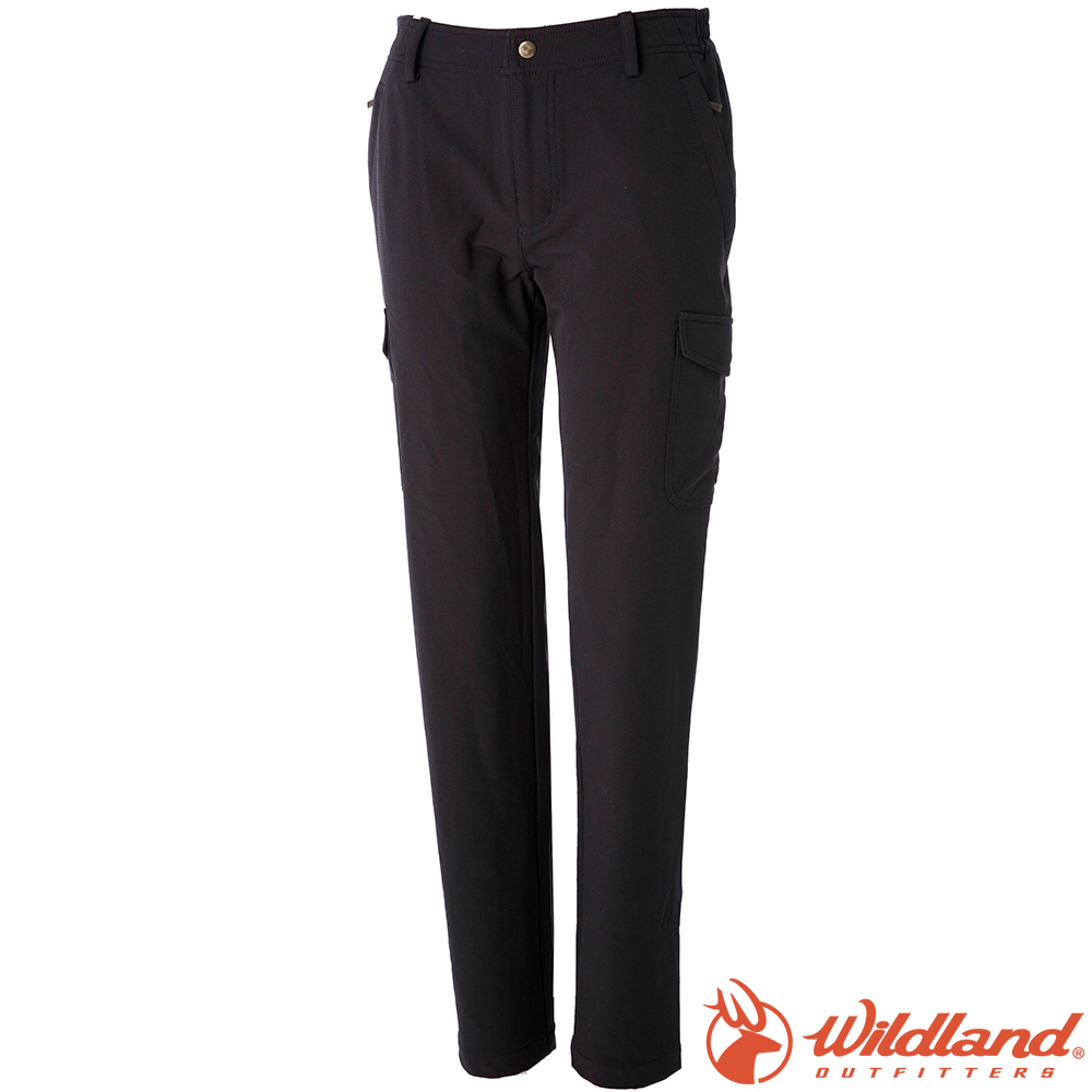 Wildland 荒野 0A52305-99深霧灰 女彈性貼袋保暖休閒褲