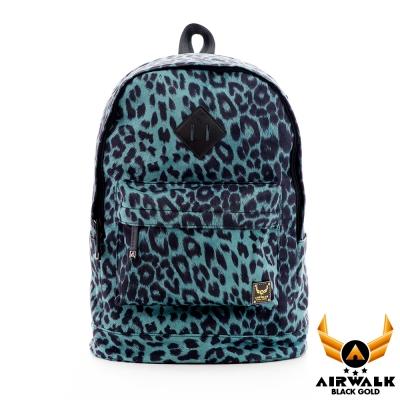 AIRWALK-野性魅力豹紋系-復刻限量筆電後背包