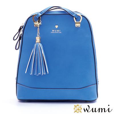 WuMi 無米 貝琪甜心兩用後背包 靚亮藍