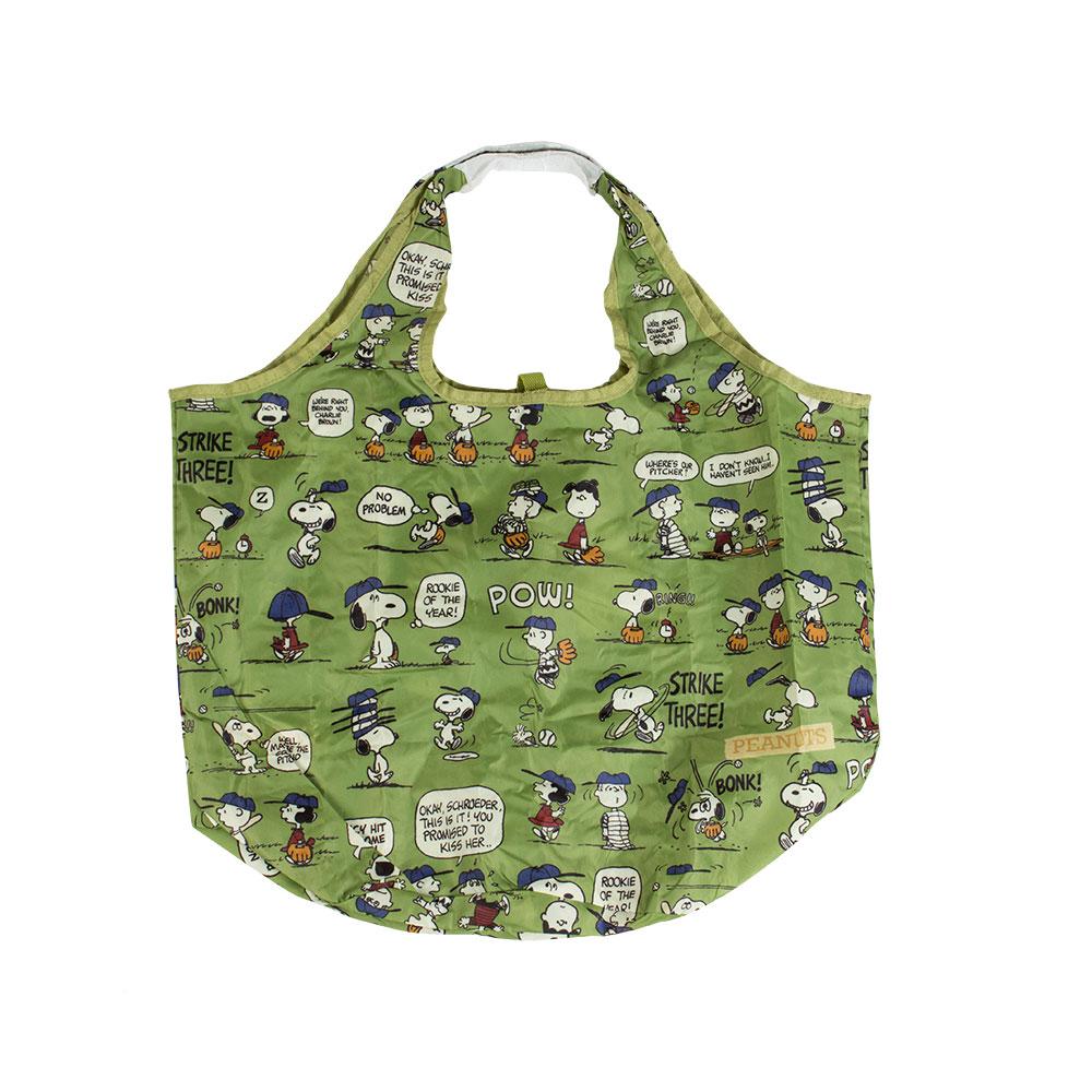 Sanrio SNOOPY趣味設計系列環保購物袋(棒球好朋友)