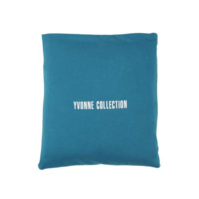 Yvonne Collection 3x4呎北極熊收納抱枕車用四季被-淺藍綠