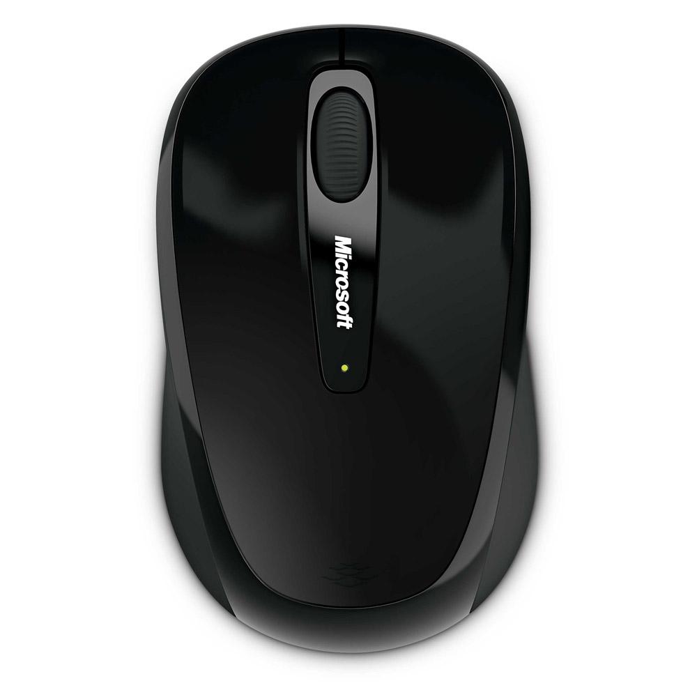 微軟 無線行動滑鼠3500 黑色