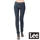 Lee牛仔褲 407標準中腰窄管 -女款(中深藍)