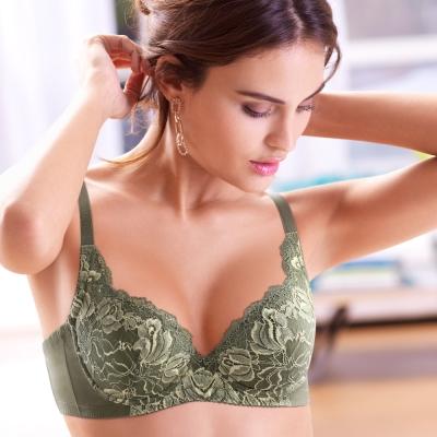 黛安芬-超值美選Bra-B-E罩杯內衣-棕櫚綠