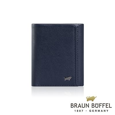BRAUN BUFFEL -ANDRO 安卓系列7卡三折皮夾 - 海軍藍