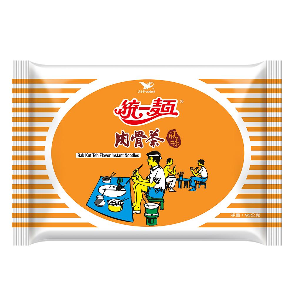 統一麵 肉骨茶風味袋裝(30入/箱)