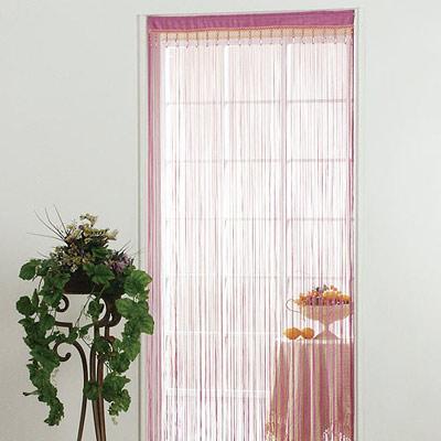 棉花田【蔓莎】水晶金蔥線簾-桃紅(85x150cm)