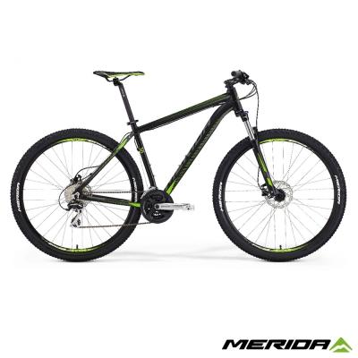 《MERIDA》美利達 歐洲款 大輪徑登山車 Big Nine 20D 平麗黑