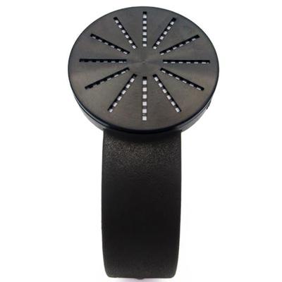 CLICK Shower 淋浴個性腕錶-黑/45mm